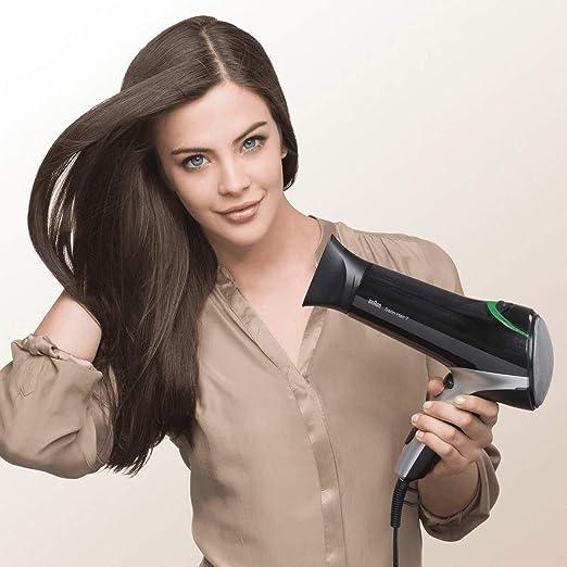 Braun Satin Hair Sèche cheveux 7 IONTEC HD710 avec technologie ionique pour donner plus de brillance et dompter les frisottis