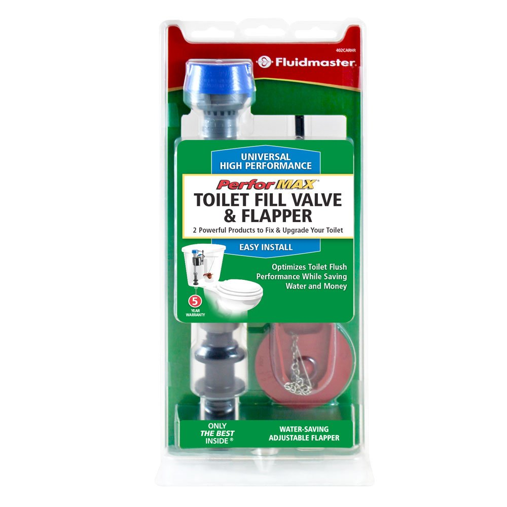 toilet fill valve and flapper. Fluidmaster 402CARHRP14 PerforMAX Universal High Performance Toilet Fill  Valve And Flapper Repair Kit For 2 Inch Flush Toilets Amazon Com