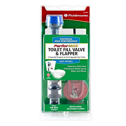Fluidmaster 402CARHRP14 Performax Toilet Fill Valve And Flapper Repair Kit      Amazon.com