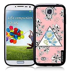 Cool Painting Coral Flower Pattern Thinshell Case Protective S4 Case