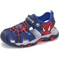 YEMAO Zapatos para niños Niños Spiderman Sandalias Ocasionales