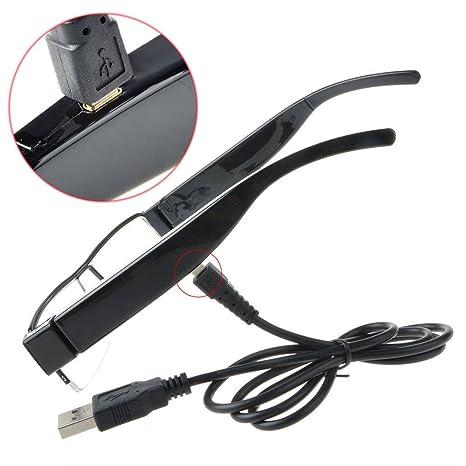OMOUP 16GB 1080P HD Espía Cámara Ocultada Eyewear Cam Video Gafas de Sol Anteojos Camara Mini DV Videocámara: Amazon.es: Electrónica