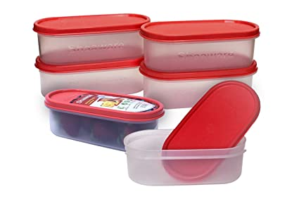 Buy Shaaware AS TUFF AS Rock Modular Storage Box 550 Ml 6 Pieces