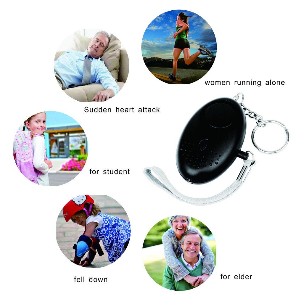 Amazon.com: Llavero de alarma personal de emergencia para ...