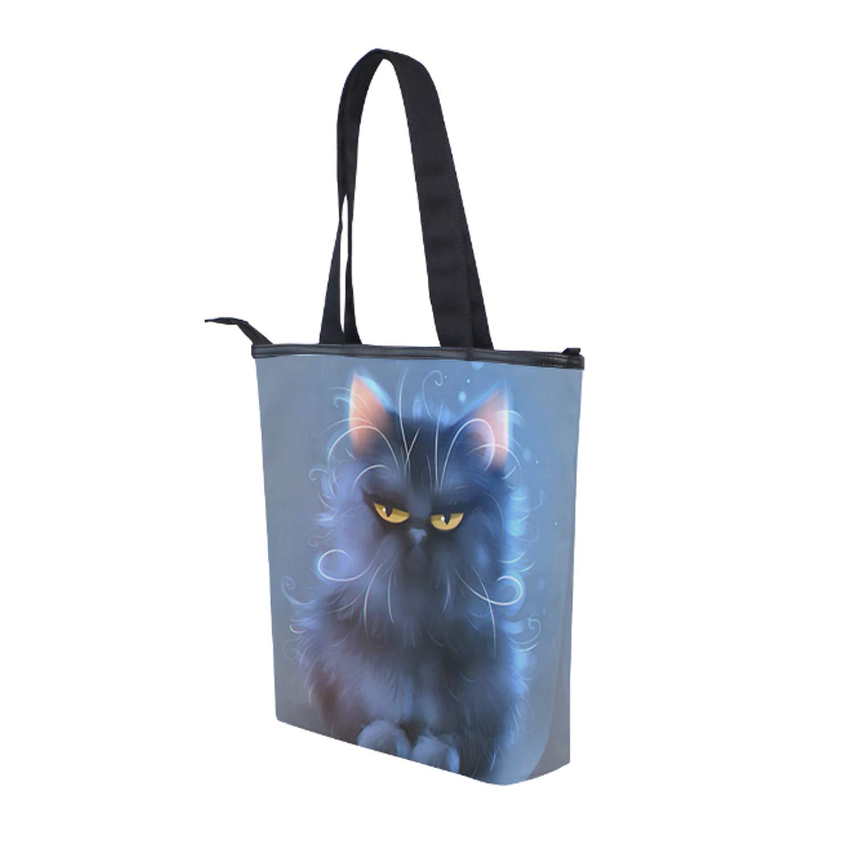 Black History Printing Canvas Shoulder Bag Retro Casual Handbags Messenger Bags
