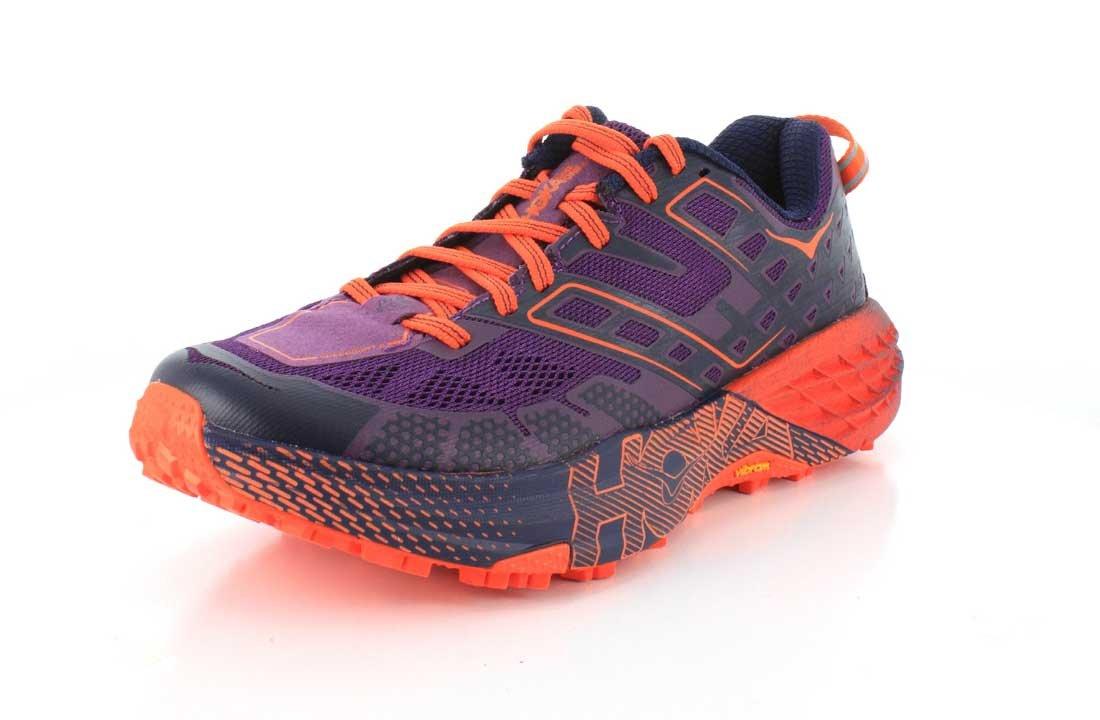 Hoka One One Speedgoat 2 - Zapatilla de trail, color morado y rosa, 1016796, morado, 39 1/3 39 1/3 EU|Morado