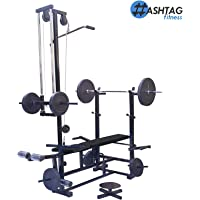 Hashtag Fitness 20 in 1 Bench for Muscle Building Workout and Home Gym Exercise