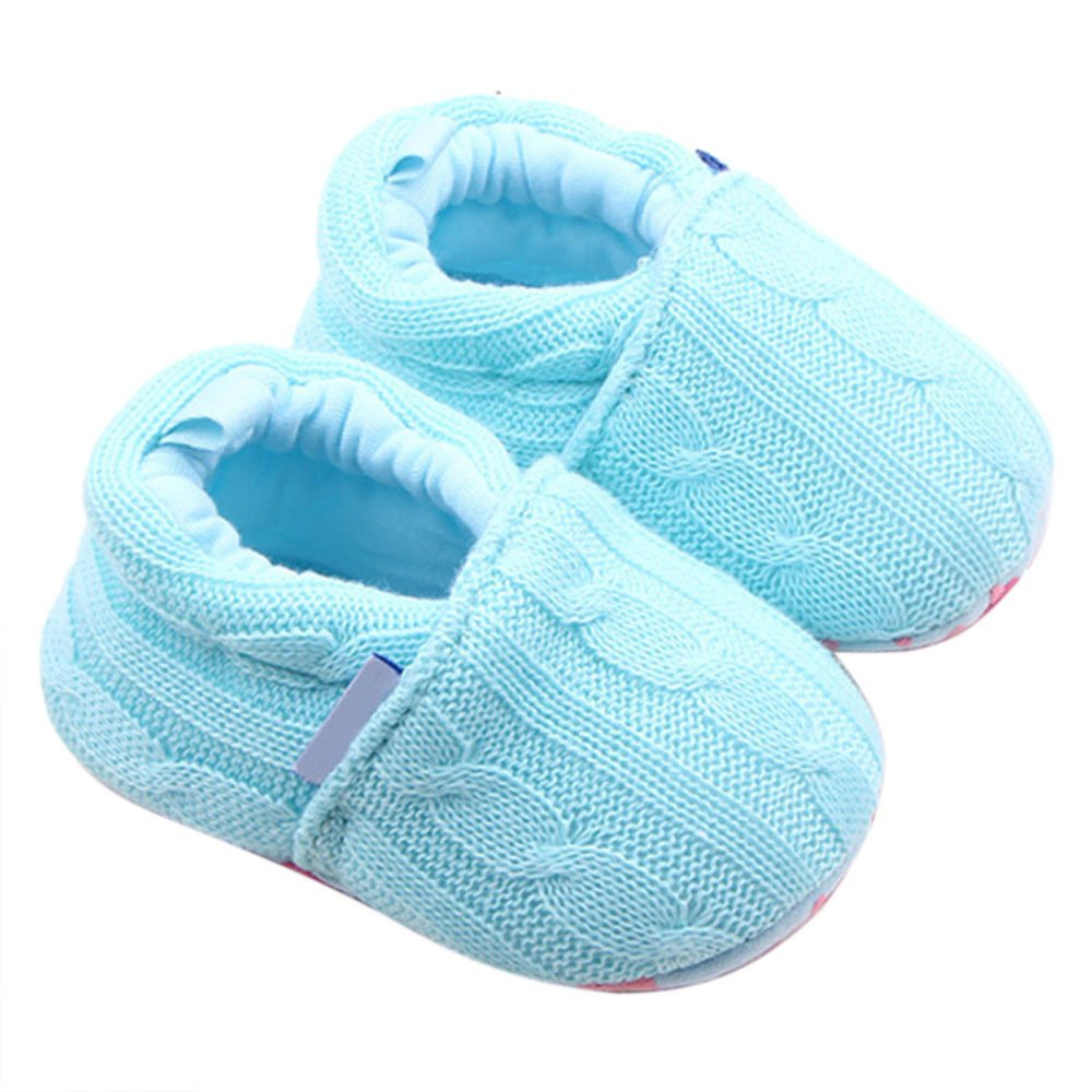 Baby Anti-Slip Shoes, Witspace Toddler Sneaker Soft Sole Walkers Newborn Booties Boys Girls Loafers