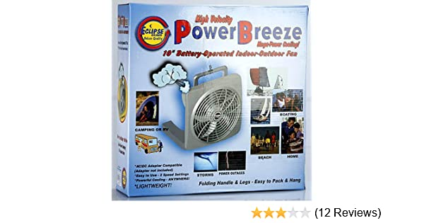 Amazon.com: Eclipse NV-30215 10-Inch High Velocity Power Breeze Indoor/Outdoor Fan: Electric Household Fans: Posters & Prints