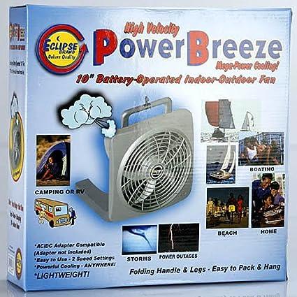 Eclipse NV-30215 10-Inch High Velocity Power Breeze Indoor/Outdoor Fan