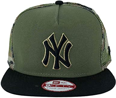 A NEW ERA ERA Era Gorra Snapback, MLB 9Fifty NY Yankees Camuflaje ...