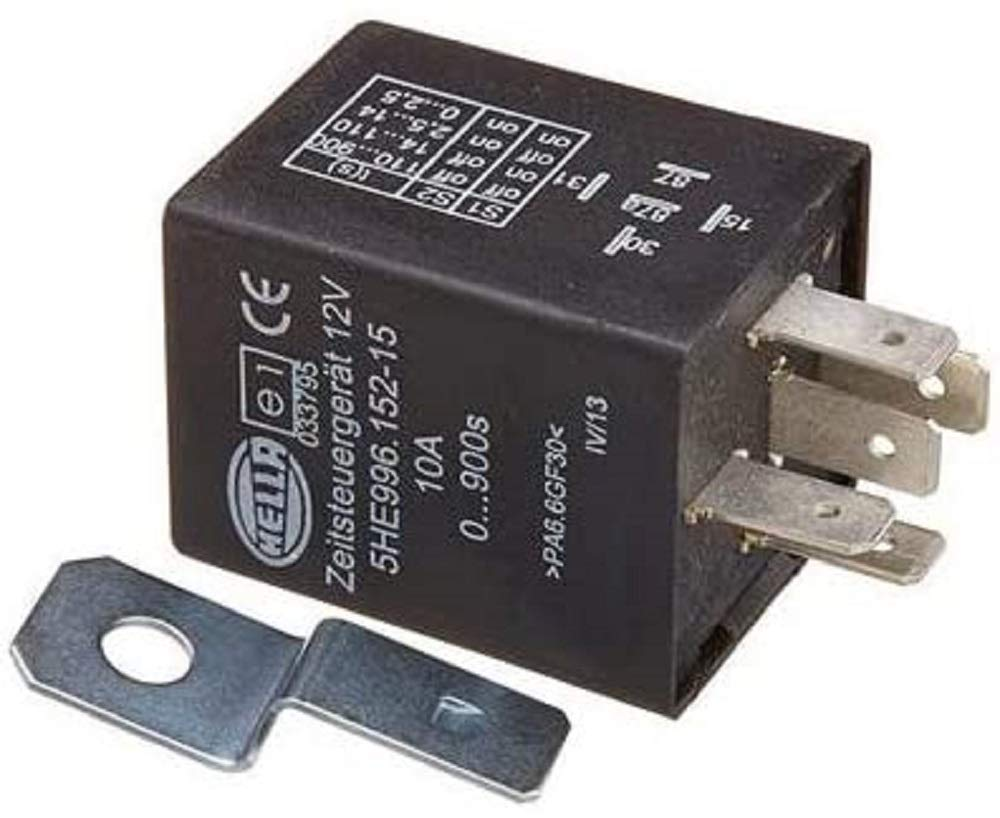 HELLA 996152151 12 Volt 5 Pin 0-900s Delay On Time Control Unit