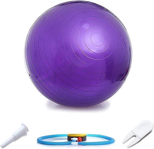 WINBST Bola de Gimnasia Bola de Equilibrio Bola de Yoga y Pilates ...