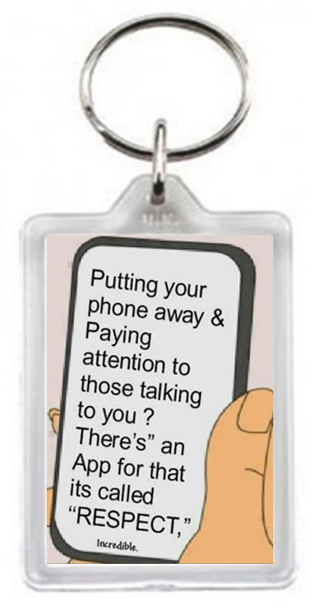 Mobile Phone Talk Message App Respect Cartoon Quotes Saying Gift