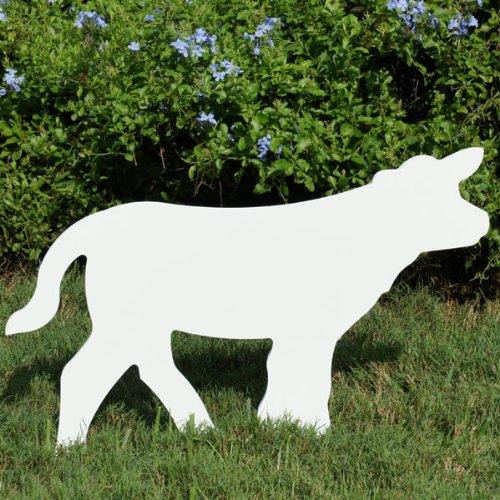 Teak Isle Christmas Outdoor Nativity Calf Figure