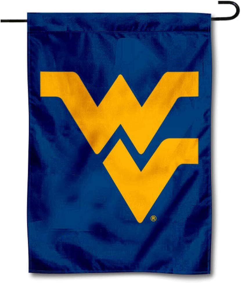 College Flags & Banners Co. WVU Mountaineers Blue Garden Flag