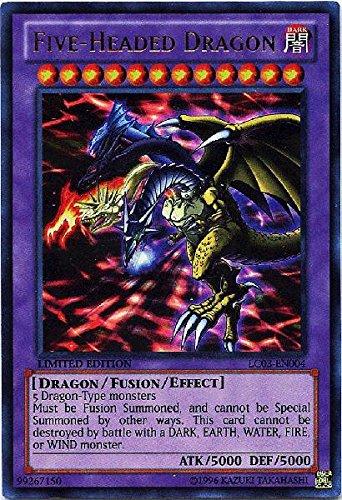 amazon com yu gi oh five headed dragon lc03 en004 legendary