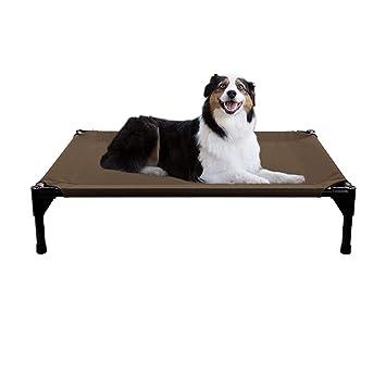 Veehoo Cama elevada para Perro, Cuna portátil elevada, Alfombra Impermeable y Transpirable, pies