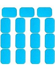 Bkinsety EMS Abs Replacement Pads, Abdominal Muscle Trainer Gel Pad 30pcs for Men Women Trainer Belt(2pcs/packs, 15packs/30pcs)
