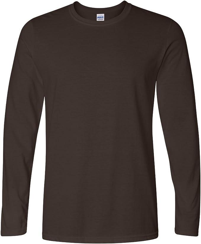 BC488 Gildan Mens Soft Style Long Sleeve T-Shirt
