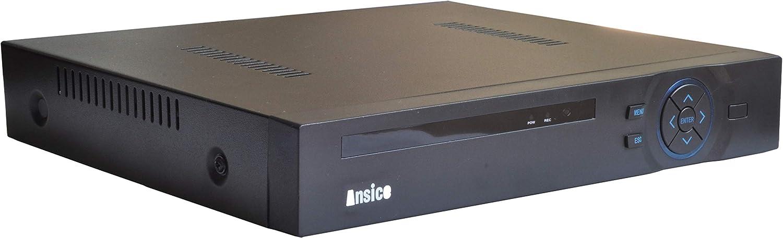 Ansice - Grabadora de vídeo híbrida DVR 1080N 1 CH H.264 + AHD, TVI,CVI & NVR 4 en 1 DVR para AHD, TVI,CVI,COAXIAL HD cámara XVI control coaxial y cámara IP
