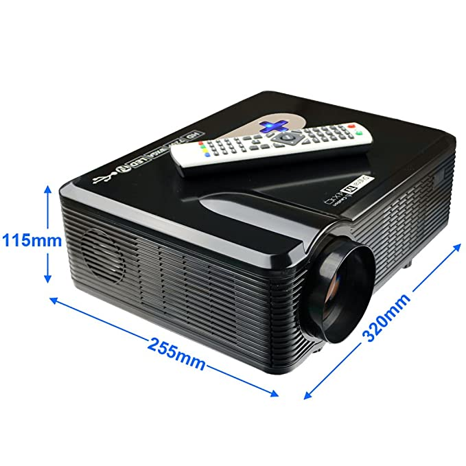 Excelvan - CL720D LED Proyector HD (3000 lúmenes, resolución ...
