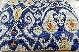 Bedspreads Designer Bedding for Teens Ikat Quilts King Ink Blue