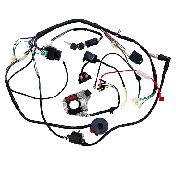 Scooter 250 Wiring Diagram