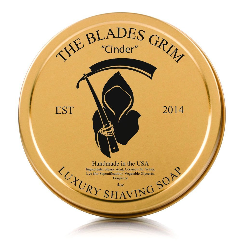The Blades Grim Gold Luxury Shaving Soap - ''Cinder''