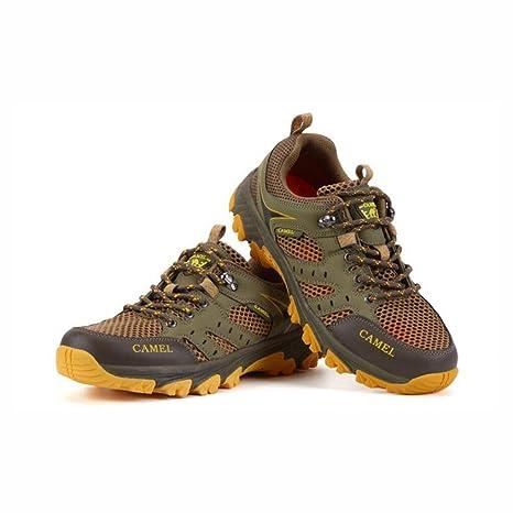 YaXuan Scarpe da ginnastica da uomo, Scarpe da trekking, Scarpe da uomo, Scarpe estive da esterno, Scarpe da passeggio per coppia, Scarpe sportive da indossare traspiranti antiscivolo,