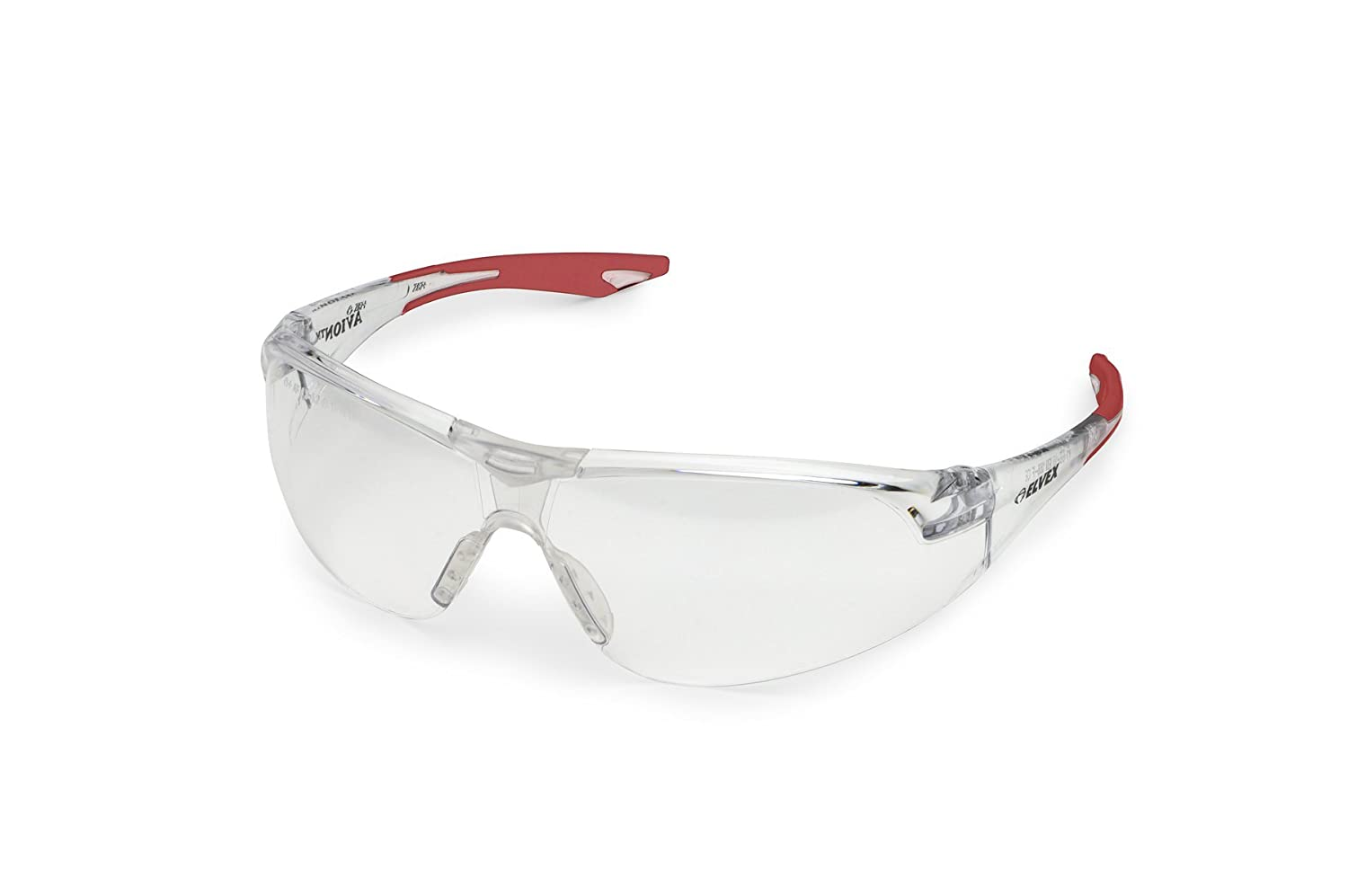 Elvex WELSG18C Avion One Size Clear Lens//Red Temple