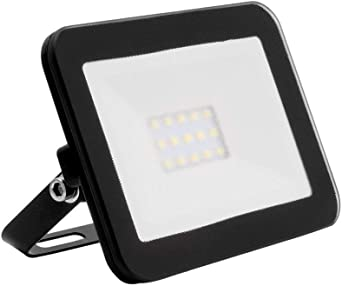 Foco Proyector LED Slim Cristal 10W Negro Blanco Frío 6000K ...