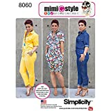 Simplicity Patterns Misses' Jumpsuits from Mimi G Style Size: H5 (6-8-10-12-14), 8060