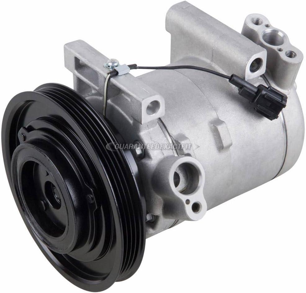 BuyAutoParts 60-86307R2 NEW For Infiniti QX4 /& Nissan Pathfinder 2001 2002 AC Compressor w//A//C Drier