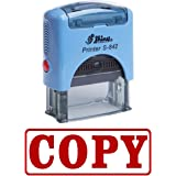COPY Self Inking Rubber Stamp Office Stationary Custom Shiny Stamp