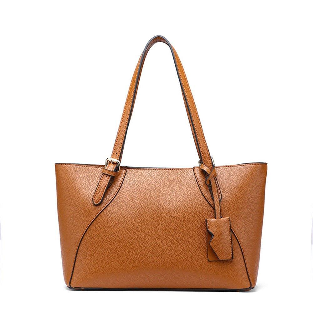 SJMMBB Women Bag Fashion Handbag,Brown,25X35X23Cm