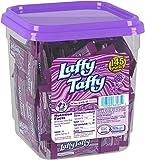 Laffy Taffy Candy Jar, Grape, 145 Count