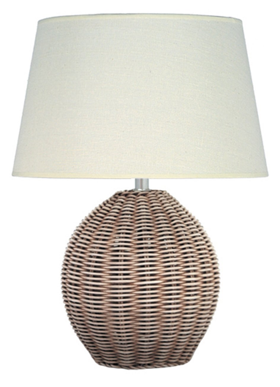 Pacific lighting 500 rattan cream wash table lamp base only pacific lighting 500 rattan cream wash table lamp base only amazon kitchen home aloadofball Images