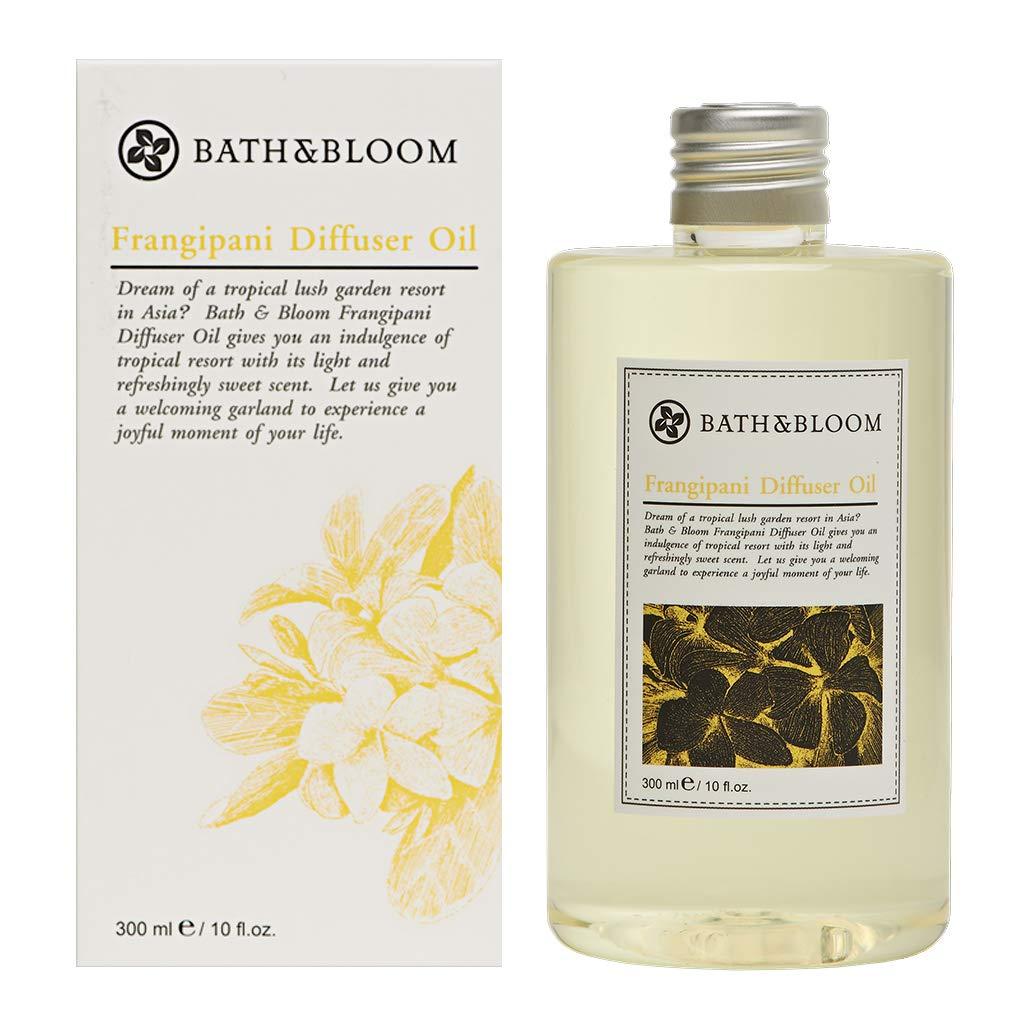 Bath&Bloom Frangipani Diffuser Oil 300 ml. (2 Pack) by Bath&Bloom Thailand (Image #1)