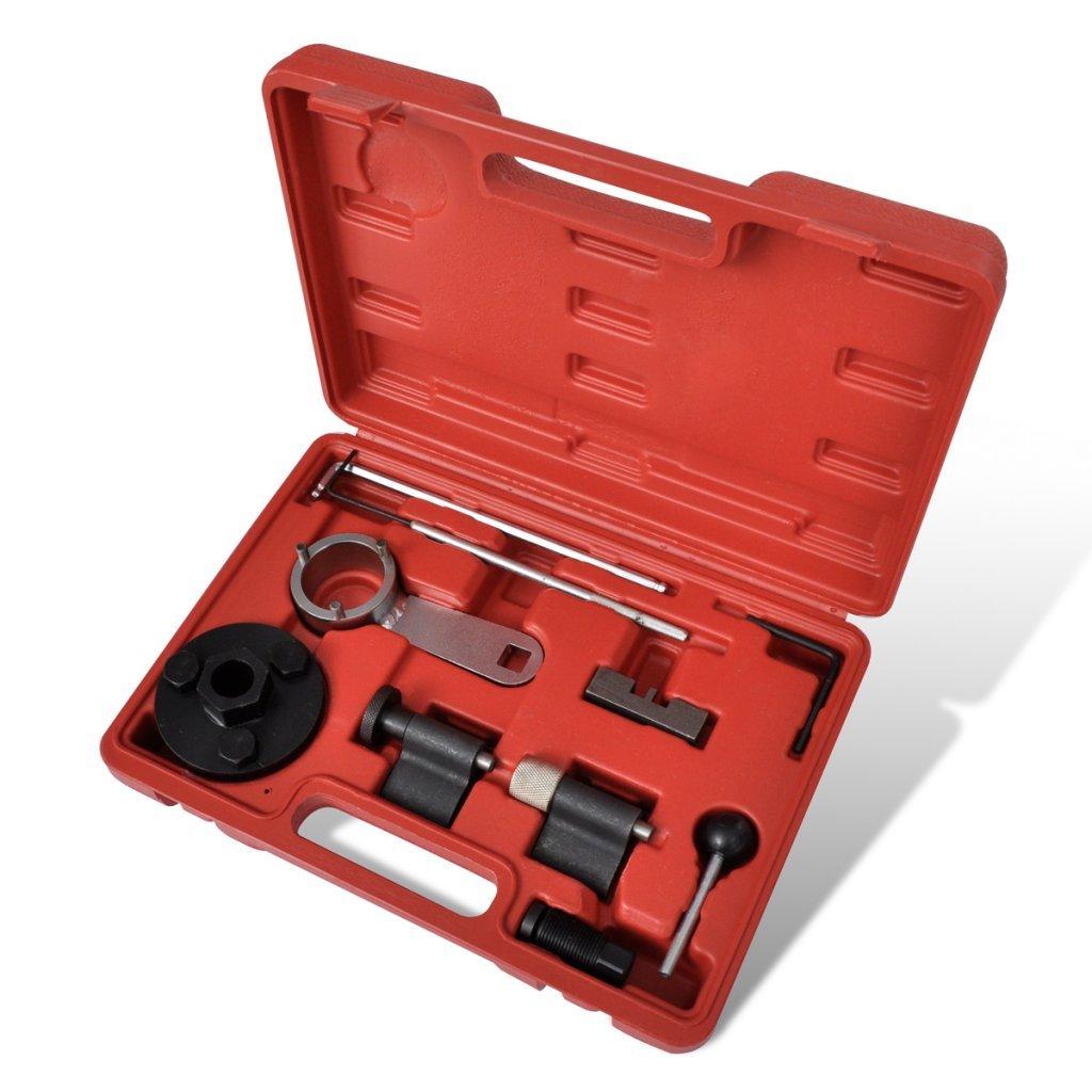 festnight Coffret Calage distribución VAG 1,6 & 2,0L TDI para Audi/Skoda/ Seat/Volkswagen: Amazon.es: Bricolaje y herramientas