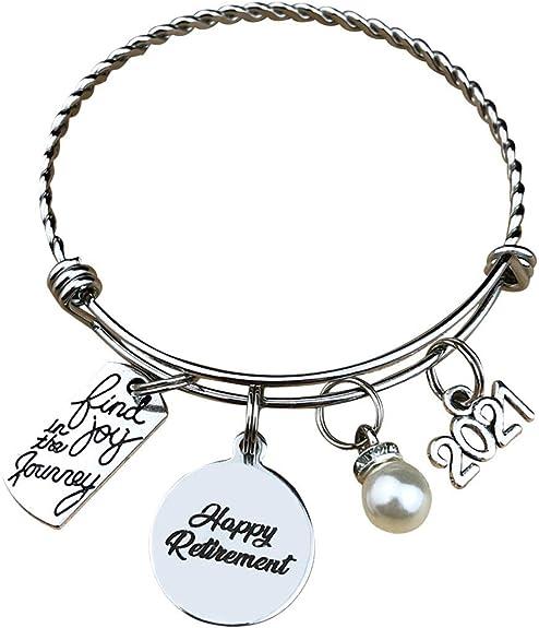 Happy Retirement Bracelet