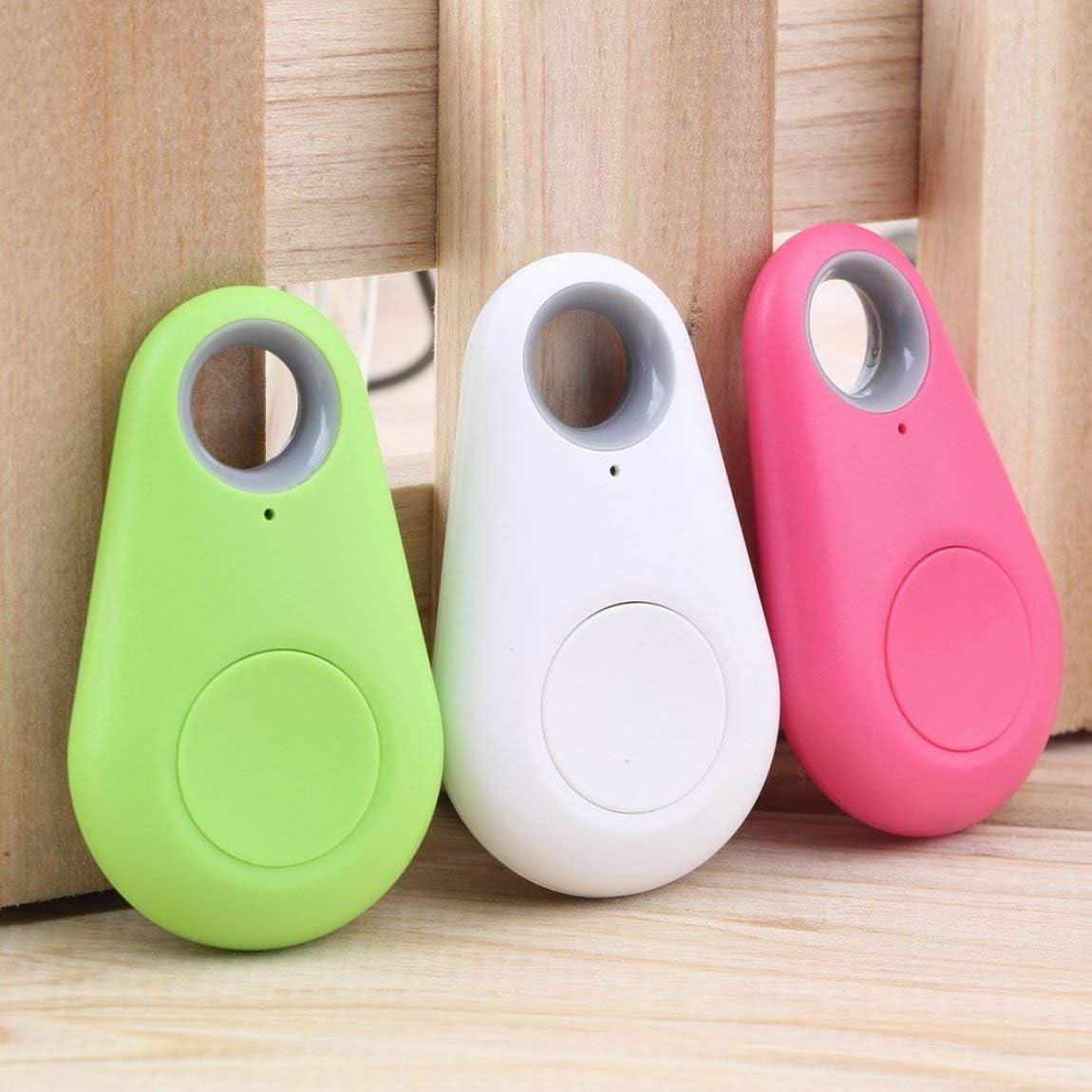 Deniseonuk Mini Fashion 4.0 Tracker Locator Tag Alarm Wallet Key Pet Dog Tracker Anti-lost Pocket Size Smart Tracker