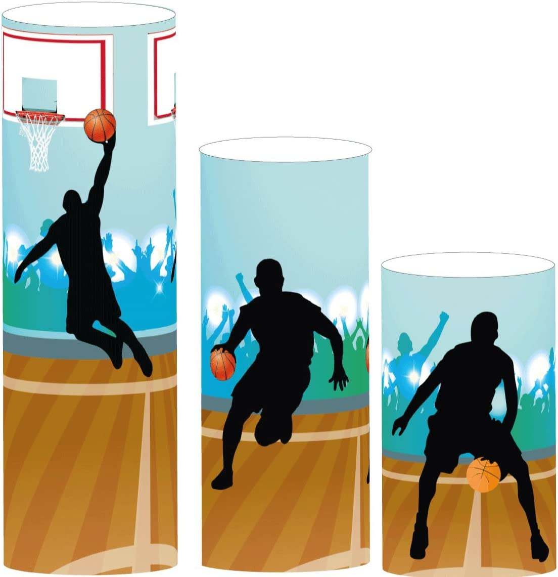Eccolafesta - Juego de centro de mesa de baloncesto (3 piezas ...