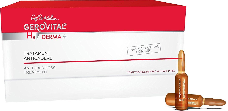 Tratamiento con ampollas anticaída, producto concepto farmacéutico, para todo tipo de pelos, hipoalergénico, sin jabón, colorantes o SLS, para la caída ...