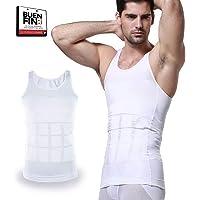 Stargoods Camiseta Interior Deportiva, Faja Moldeadora y Compresión de Abdomen para Hombre, Ideal para Corregir la Postura y Reducir Tallas en el Torso