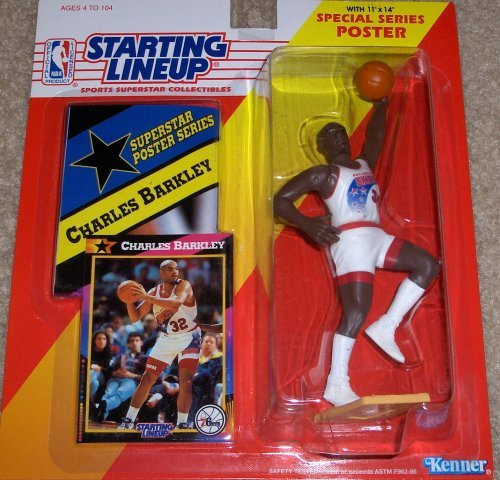 Charles Barkley 1992 Starting Lineup by Starting Line Up