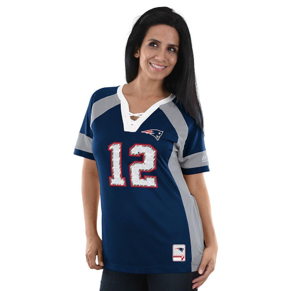 221ed48b Tom Brady New England Patriots Women's Majestic NFL