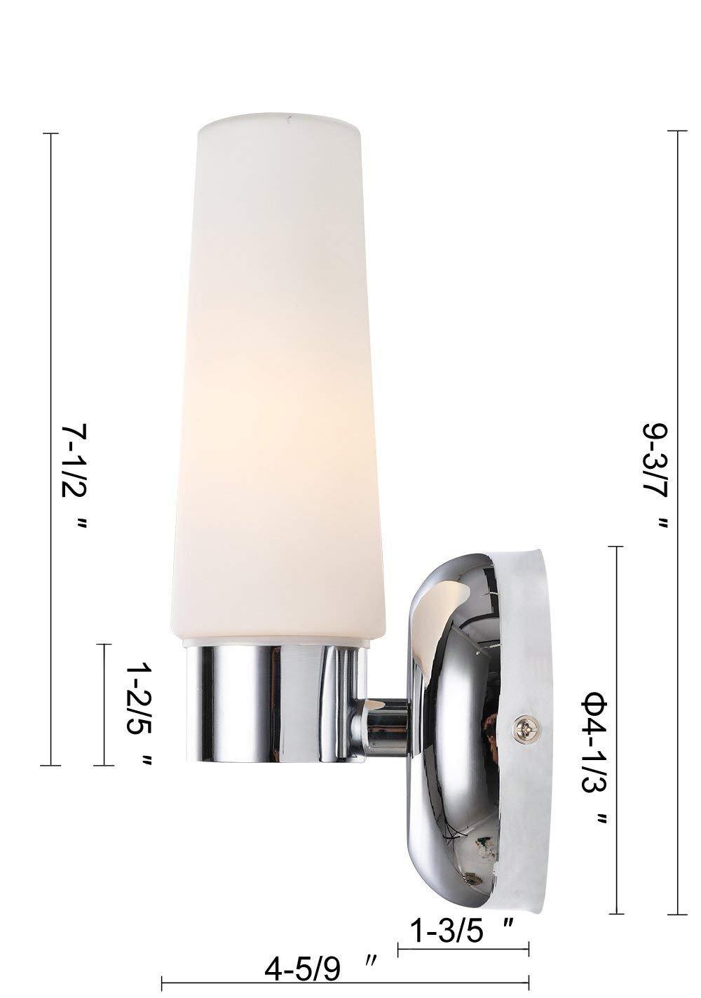 WAC Lighting MP-559-MR//BN Micha 1-Light Mini-Pendant Brushed Nickel Finish with Mirror Art Glass Shade
