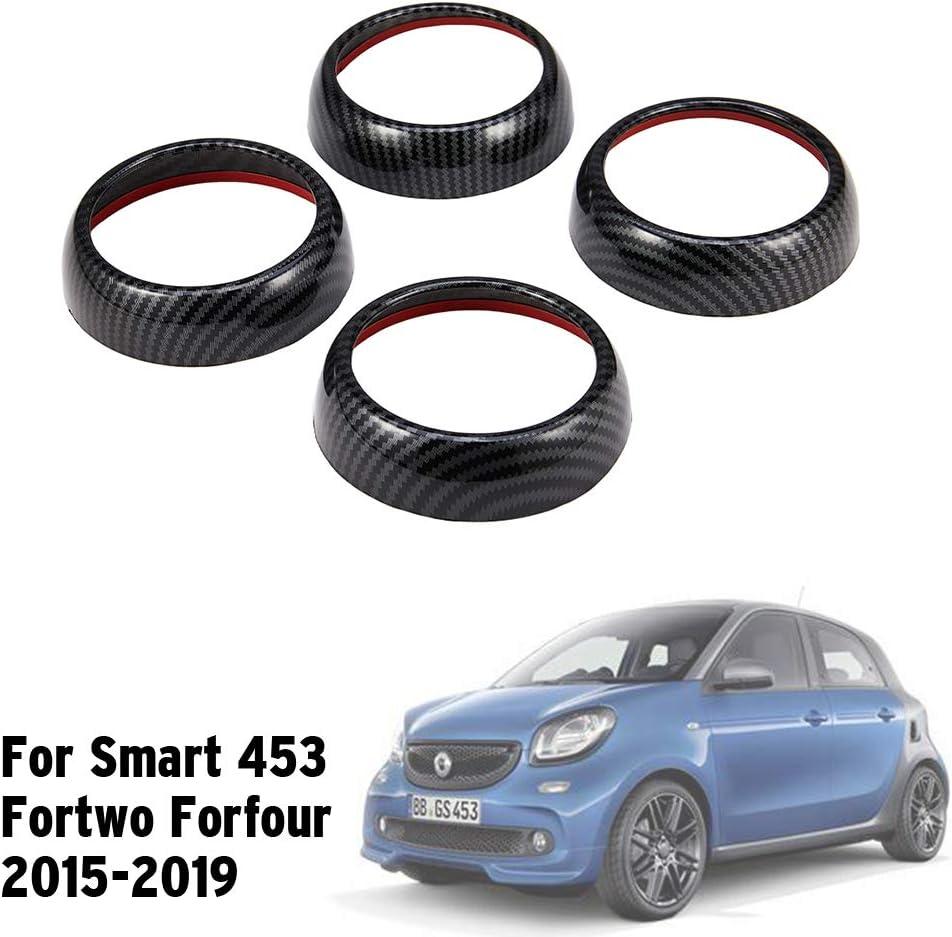 ZHANGDAN 4 St/ück Klimaanlage Rahmen Luftauslass Panel Dekoration f/ür Smart 453 Fortwo Forfour Car Styling