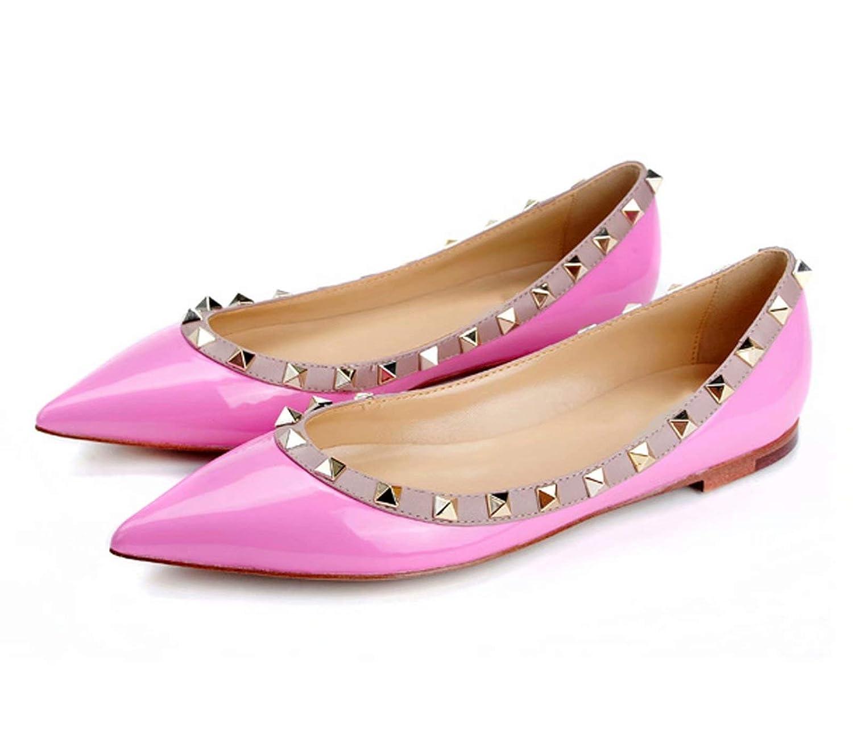 Caitlin Pan Pink Femmes Ballerines Talons B01M74EMIV Plat 35-45 Casual Bout Pointu Studded Cloutés Slip on Mocassins Plats Chaussures 35-45 Pink 62de7c2 - digitalweb.space